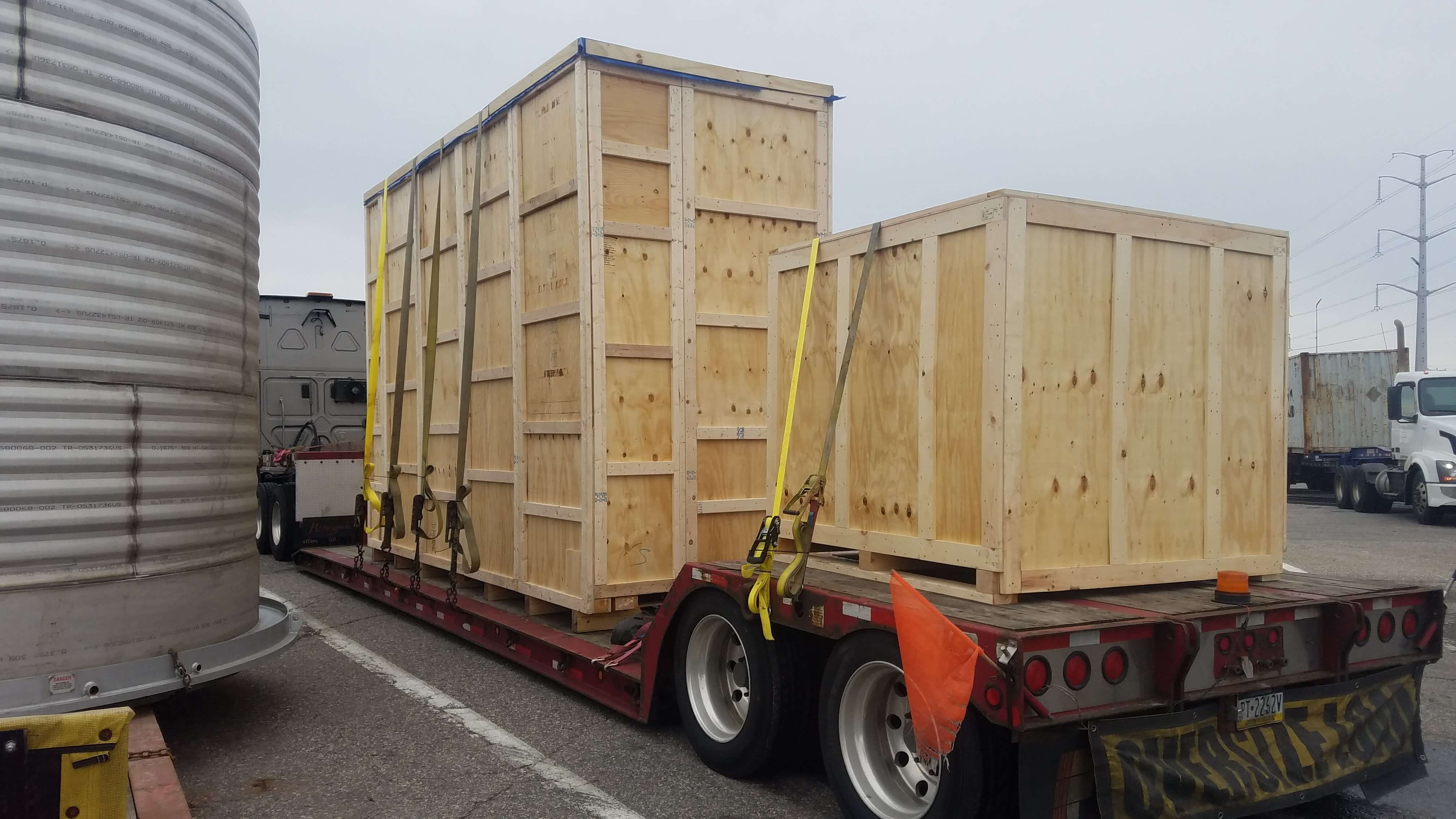 1×40'Flat Rack from Norfolk to Genoa