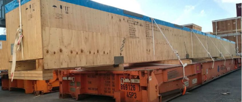 Project cargo out of gauge | TieffeGroup